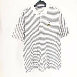 Ralph Lauren Mens Striped Polo Golf T Shirt Large
